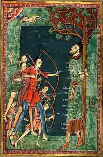 Le martyr de Saint Edmund